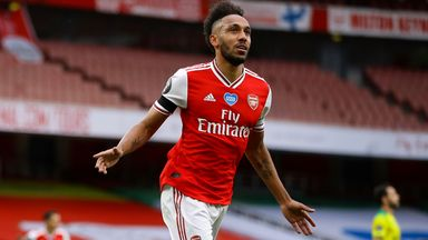 Arteta confident Auba will stay at Arsenal