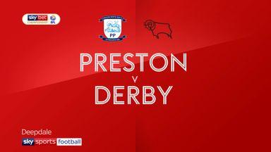 Preston 0-1 Derby