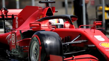 Vettel out in Q2 for Ferrari