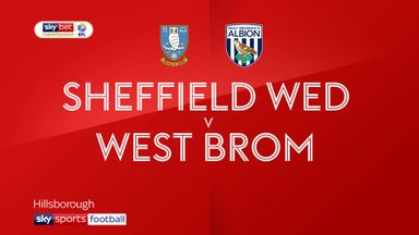 Sheffield Wednesday 0-3 West Brom