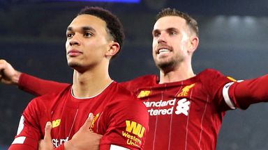 5 Liverpool players in PFA PL Team of the Year