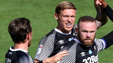 Rooney scores stunning free-kick!