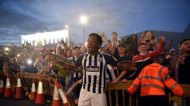 'Difficult for West Brom when fans arrived'