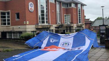 Wigan fans raise more than £117k