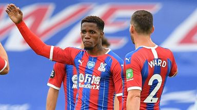 Hodgson: Zaha on top form for run-in