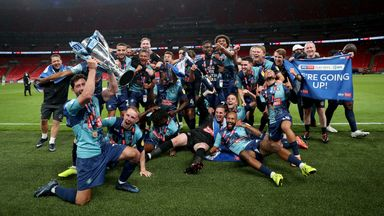 'Wycombe promotion a wonderful story'