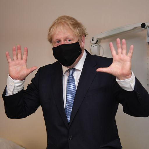 Boris Johnson: 'All these anti-vaxxers are nuts'
