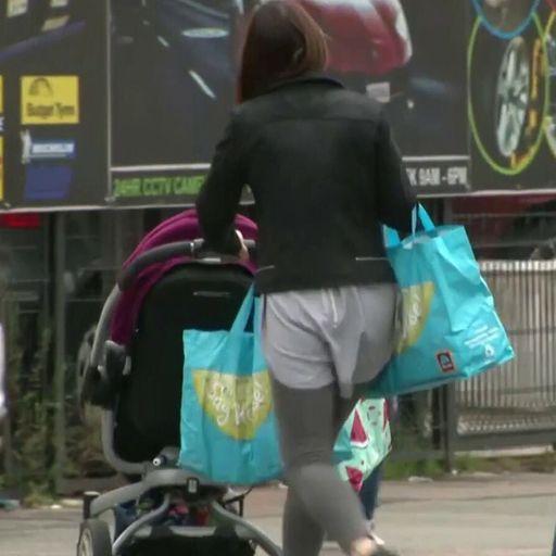 Four million children in UK living in poverty