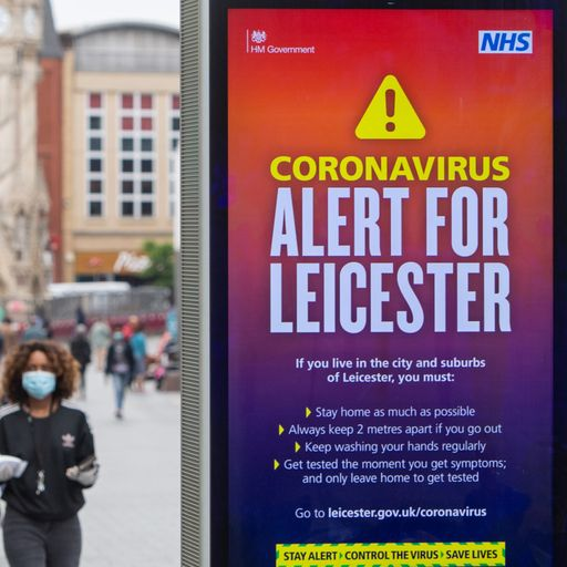 Leicester to remain in local lockdown for two more weeks - but with some changes