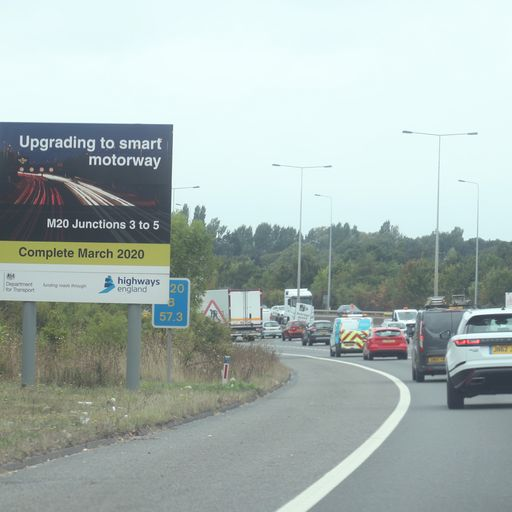 End of dynamic smart motorways: 'Too complicated', says Highways England boss