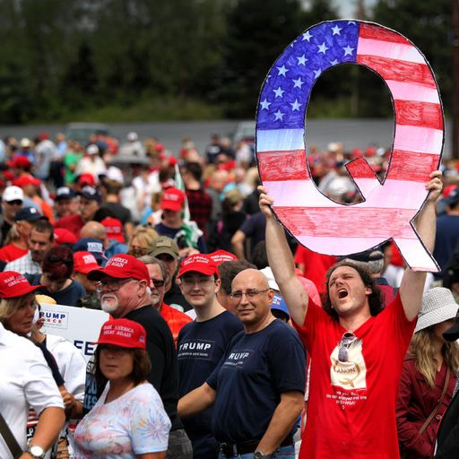 What is QAnon? The bizarre pro-Trump conspiracy theory growing ahead of the US election
