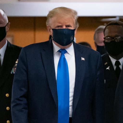 Trump says he will not order all Americans to wear masks