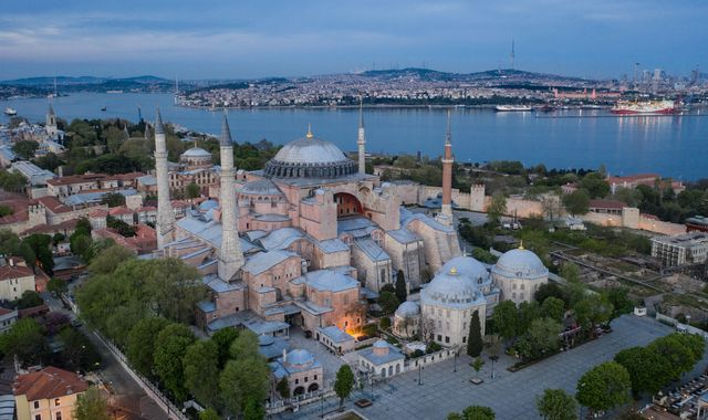 Hagia Sophia: Row over ancient Turkish monument 'a test for the country's future'