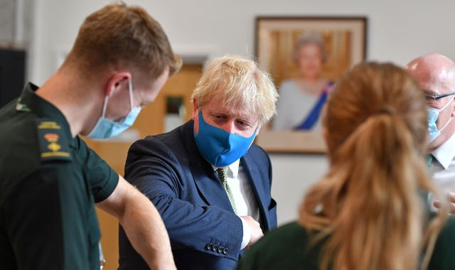 Coronavirus: Britons 'should be wearing face masks in shops', says Boris Johnson