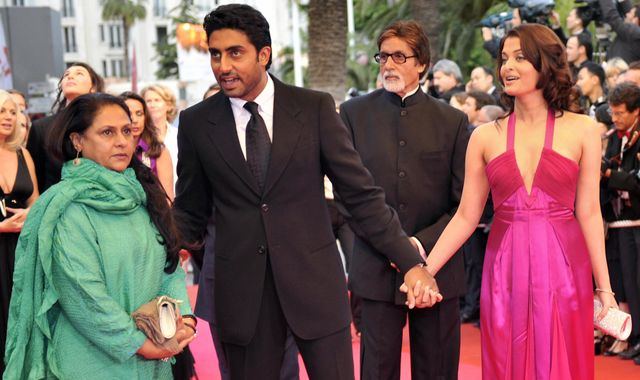 Amitabh Bachchan: Bollywood star and son Abhishek in hospital with coronavirus