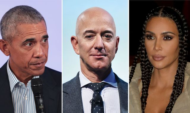 Twitter hack: Obama, Bezos and Kardashian targeted by Bitcoin scam