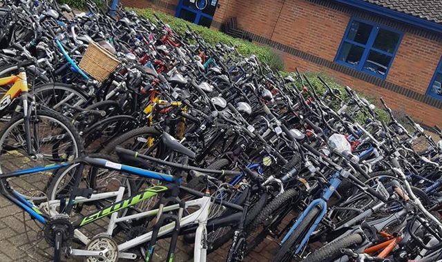 Police go to arrest man over stolen bike - and find more than 100