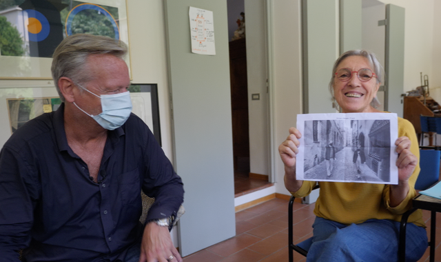 Coronavirus: An emotional reunion in Bergamo - four months after the peak of Italy's outbreak