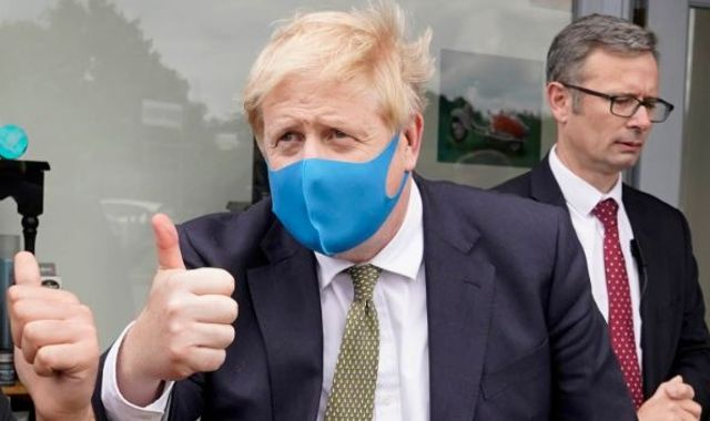 Coronavirus: PM urges people to go back to work as he backs more facemask use