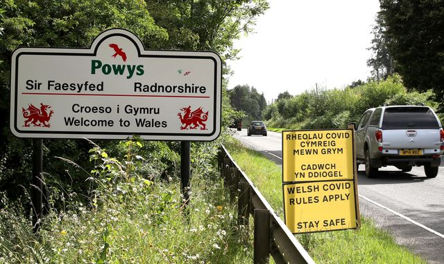 Coronavirus: People visiting Wales urged to behave safely as five-mile travel rule ends