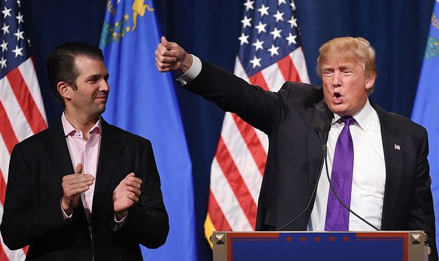 Coronavirus: Twitter puts Donald Trump Jr on time out over 'misleading' video