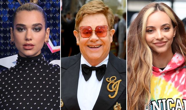 Elton John, Dua Lipa and Jade Thirlwall among stars to call for end to 'conversion therapy'