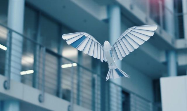 Robotic birds capable of amazingly realistic flight shown off by German company