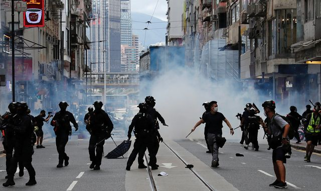 Hong Kong: UK summons Chinese ambassador over 'deep concern' for new security law
