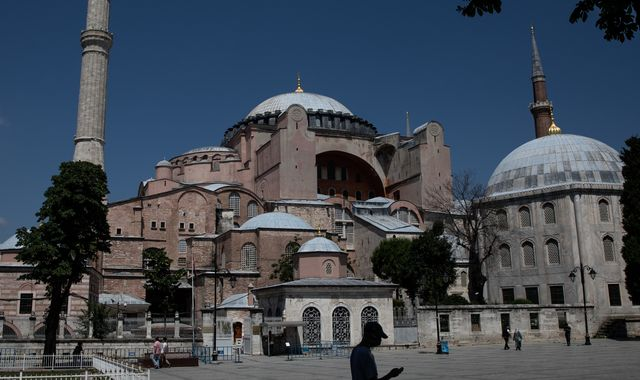 Hagia Sophia: Istanbul monument becomes mosque again after Erdogan signs decree
