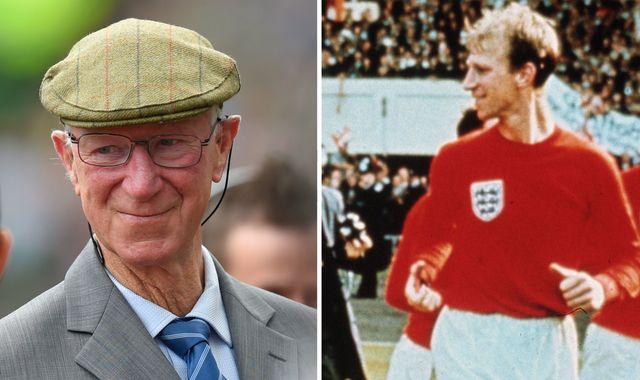 Jack Charlton: England 1966 World Cup hero dies at 85