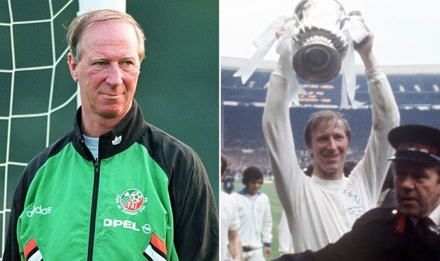 Jack Charlton: How football legend captured hearts on both sides of the Irish sea