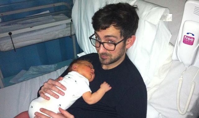 Father calls for more postnatal depression support for men after having breakdown