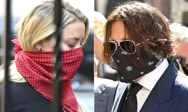 Johnny Depp 'not a wife beater' and Amber Heard allegations are 'lies', court hears