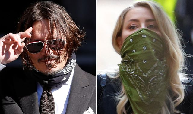 Johnny Depp ended marriage to Amber Heard after she allegedly defecated in their bed, court hears