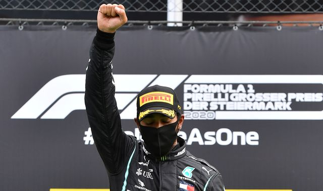 Lewis Hamilton calls out rival teams for lack of action on racism