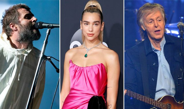 Liam Gallagher, Dua Lipa and Sir Paul McCartney among stars calling for action to save live music