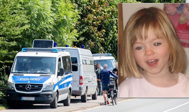 Madeleine McCann police search Hanover allotment in 'dramatic development'