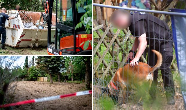 Madeleine McCann: Hidden cellar discovered at former home of suspect