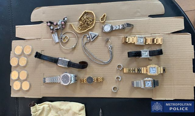 Cocaine, £13m in cash and jewellery found after police discover secret hideaways