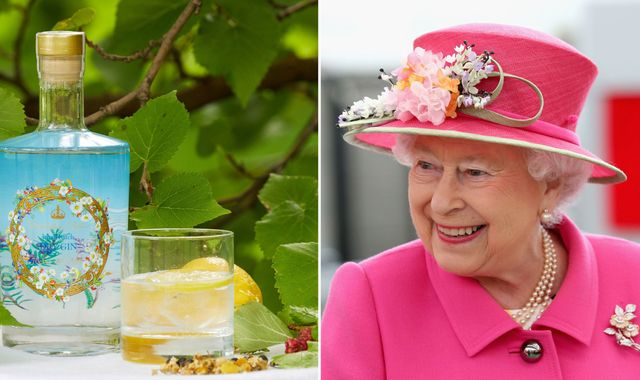 Buckingham Palace gin goes on sale with ingredients from the Queen's garden