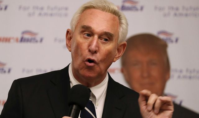 Roger Stone: Trump commutes sentence of former adviser saying he was victim of 'hoax'