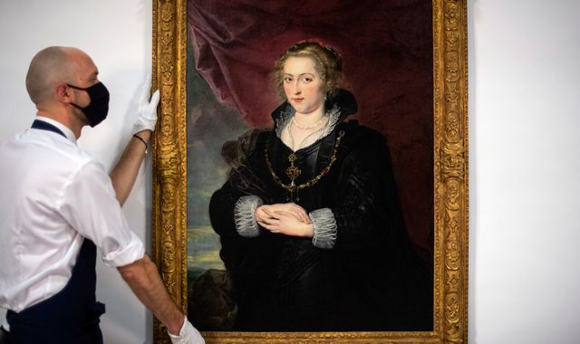 Rubens auction: '100 years of dirt and old varnish' removed to reveal 17th-century masterpiece