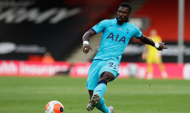 Serge Aurier: Tottenham player's brother 'shot dead in France'