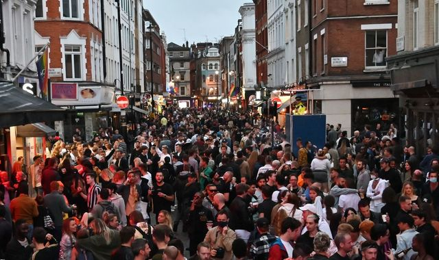 Thousands flock back to pubs on Super Saturday as police chief criticises drunken behaviour