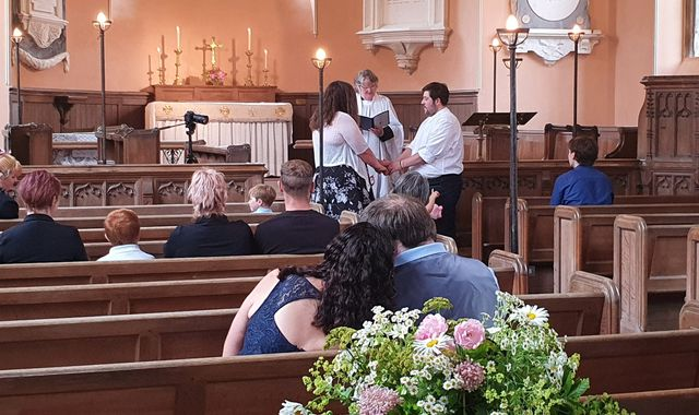 Coronavirus wedding: Getting married? Chris and Fiona's wedding is what you can expect