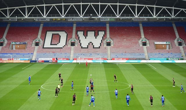 Wigan Athletic go into administration