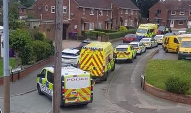 Wolverhampton: Man arrested after two paramedics stabbed in chest at house