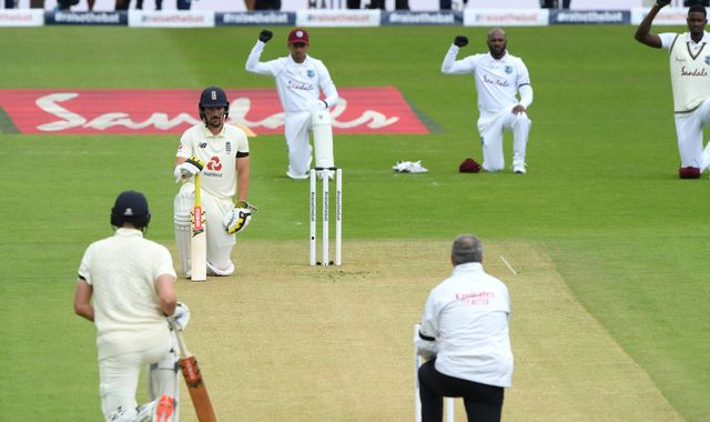Black Lives Matter: Players take the knee as delayed England-West Indies Test series starts