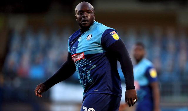 Adebayo Akinfenwa says he was called a 'Fat Water Buffalo' during play-off match