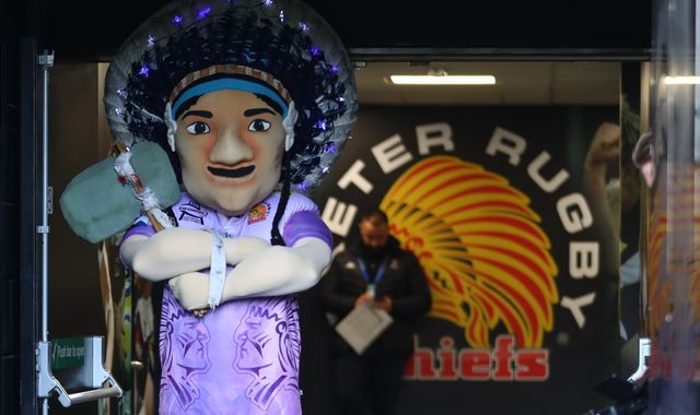 Exeter Chiefs decline to comment on call to drop 'racist' imagery